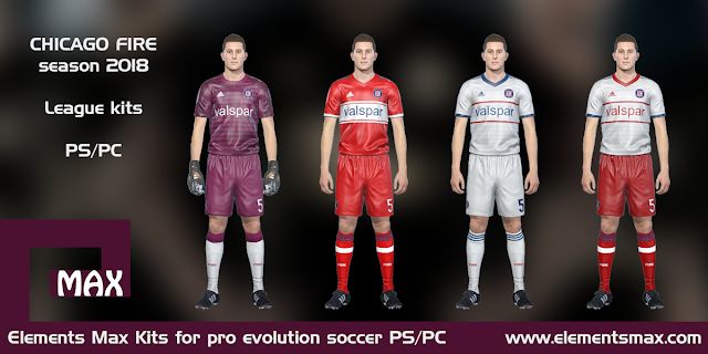 Chicago Fire PES Kits