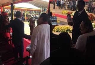 Mahinda attends swearing-in ceremony of Ugandan President