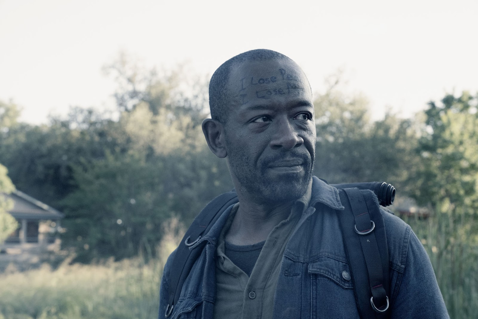 Morgan, en el episodio 4x16 Season Finale Fear The Walking Dead