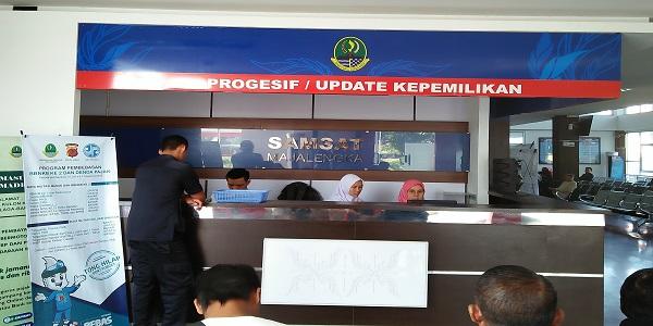 Kantor Induk Cabang SAMSAT Majalengka Jawa Barat