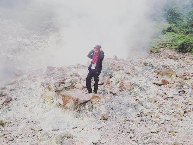kawah gunung pulosari