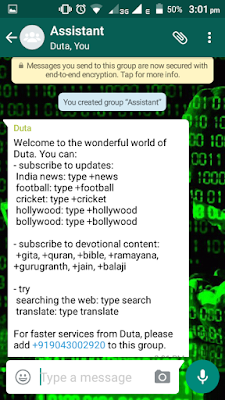 WhatsApp Bot for free