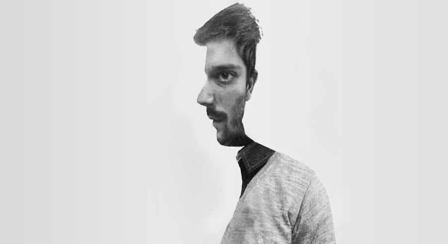 Test de personalidad: ¿El hombre está de frente o de  perfil?