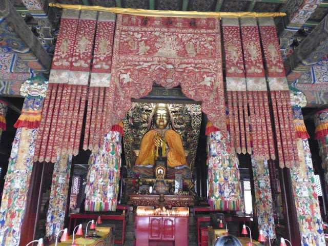 Pabellón Falun Dian en el Templo de Yonghe (Beijing)