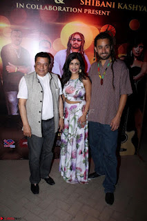 Shibani Kashyap Launches her Music Single led 24 Hours Irresponsible 042.JPG