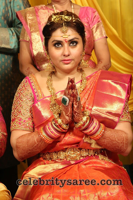 Actress Namitha Veera Wedding2
