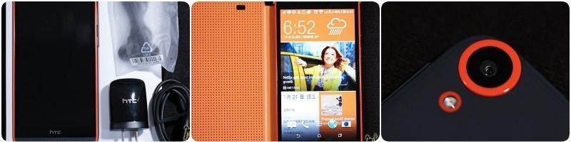 HTC Desire 820 dual sim開箱