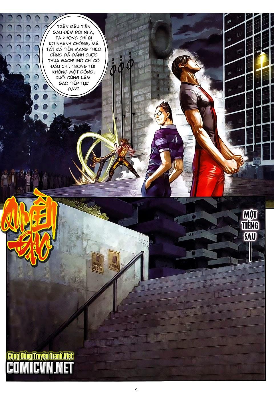 Quyền Đạo chapter 8 trang 4