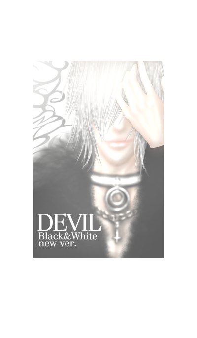 DEVIL BLACK AND WHITE New ver