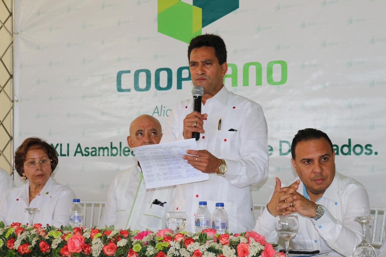 Coopsano celebra Cuadragésima Primera Asamblea General de Delegados