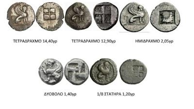 Χαραγμένες σε νόμισμα του 530 π.Χ οι Σφίγγες της Αμφίπολης