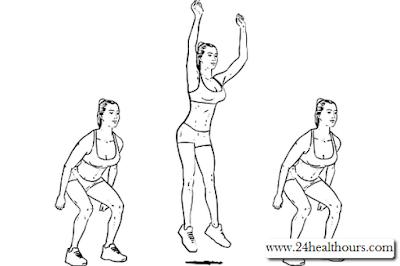 Cara Melakukan Jump Squats