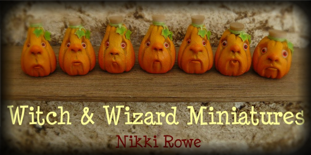 Witch and Wizard Miniatures
