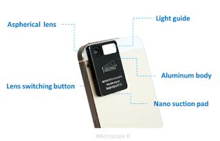 Keren, Alat Ini Mampu Merubah Smartphone Menjadi Microscope Hingga 320x Zoom
