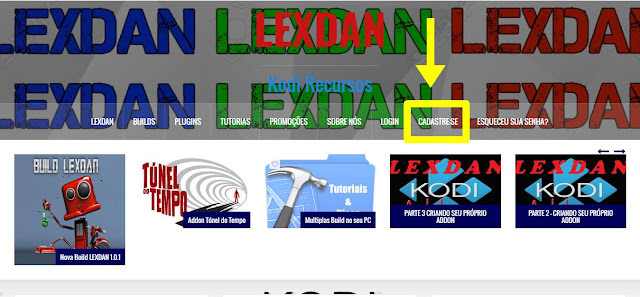 "Como Instalar o Add-on ""Lexdan Filmes"" no KODI - Filmes Dublados e Legendados no KODI"