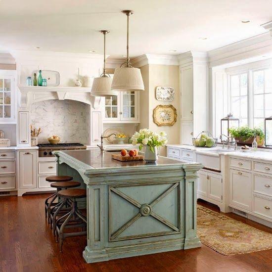 Country Kitchen Island Ideas Design