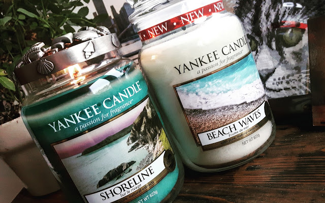 Shoreline i Beach Waves Yankee Candle - pierwsze wrażenia - Czytaj więcej »
