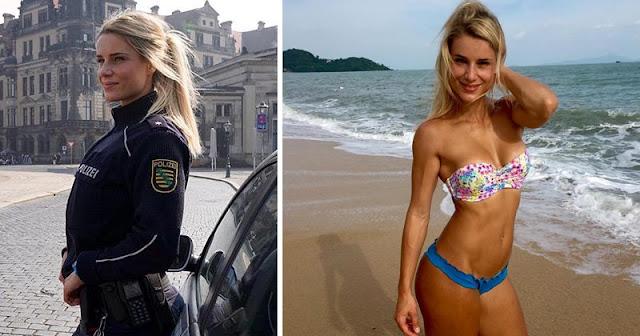 Adrienne Koleszar la policía alemana