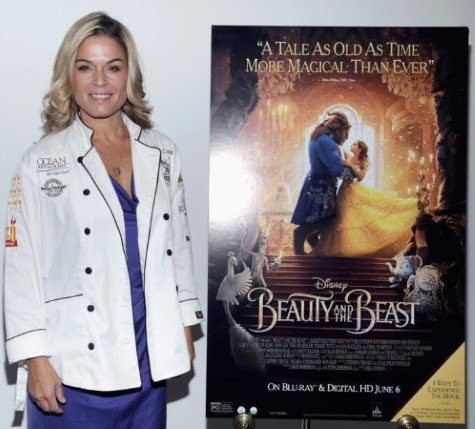 Chef Cat Cora and Disney Beauty and the Beast Brunch Party