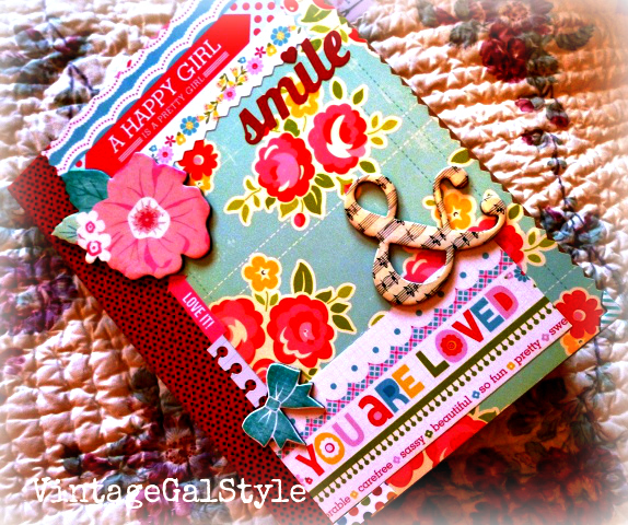 Vintage Girly Smash Journal vs Sn@p Journal