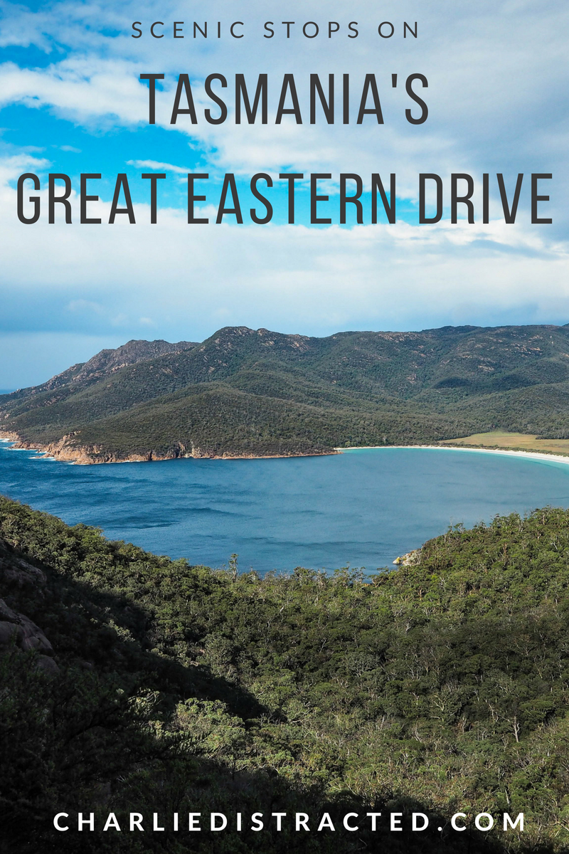 The best views on Great Eastern Drive, Tasmania