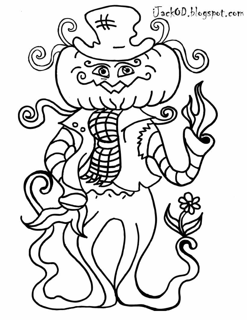 Sarah's Super Colouring Pages: Halloween Colouring Pages