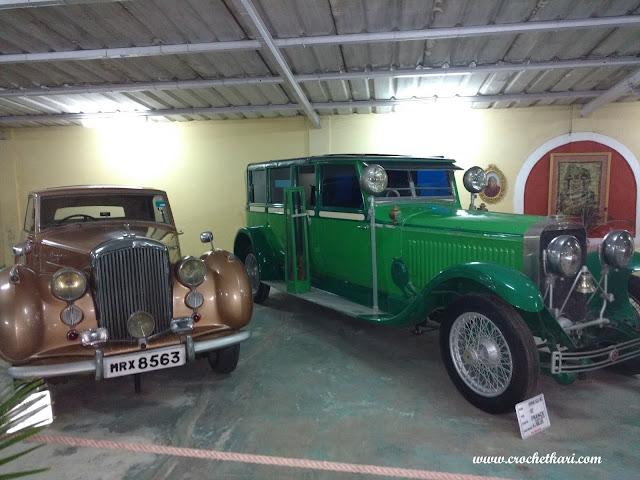 Vintage car museum kathwada