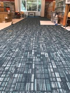 Carpet Used in Quiet Room and Main Library