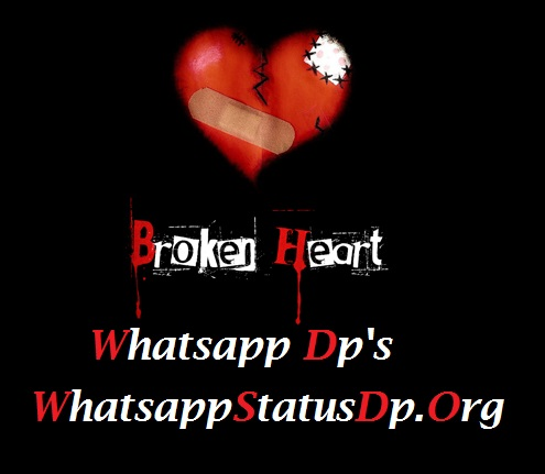 broken heart images for whatsapp dp wallpaper images