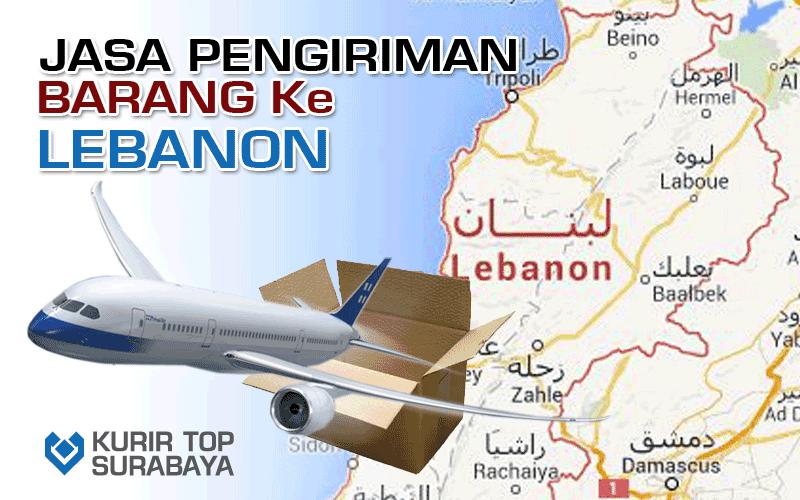 JASA PENGIRIMAN LUAR NEGERI | KE LEBANON