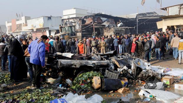 Al menos 36 muertos y 91 heridos en un doble atentado en Bagdad