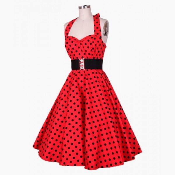 vestido de fiesta estilo vintage