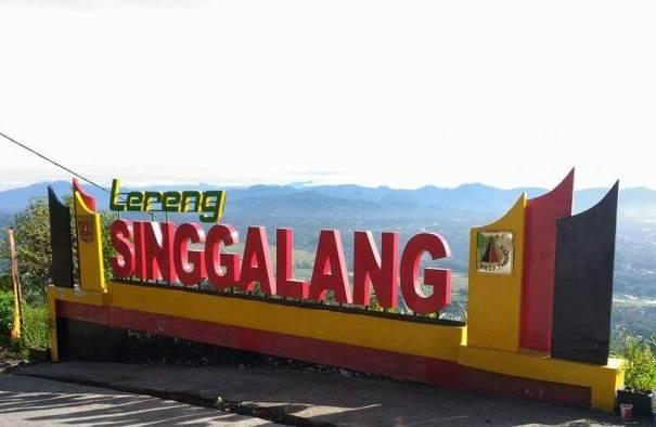 Lokasi Gunung Singgalang