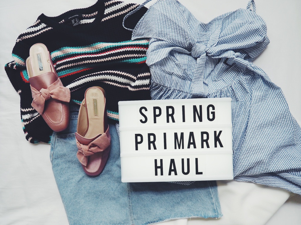 fbloggers, blogger, fashionbloggers, fashionblogger, primarkhaul, springprimarkhaul, wiw, whatimwearing, pinkslingbackshoes, scubajumper, denimminiskirt, longlinetop, stripedjumper, prairiedress, embroideredjeans