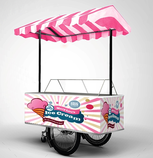 Gerobak Es Cream-Ice Cream Carts