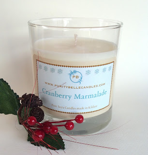 Cranberry Marmalade Soy Candle by Purity Belle