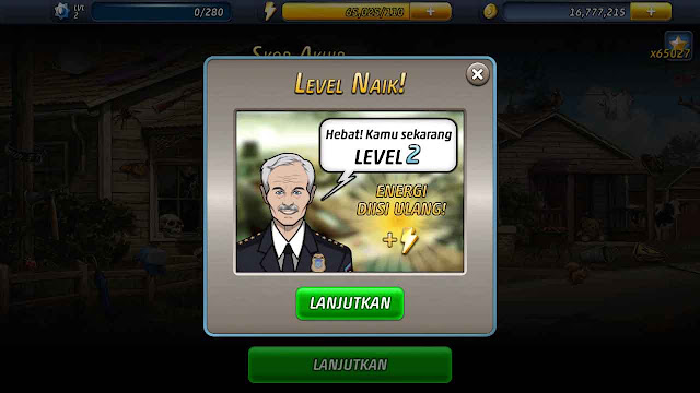 cheat criminal case energi tak terbatas
