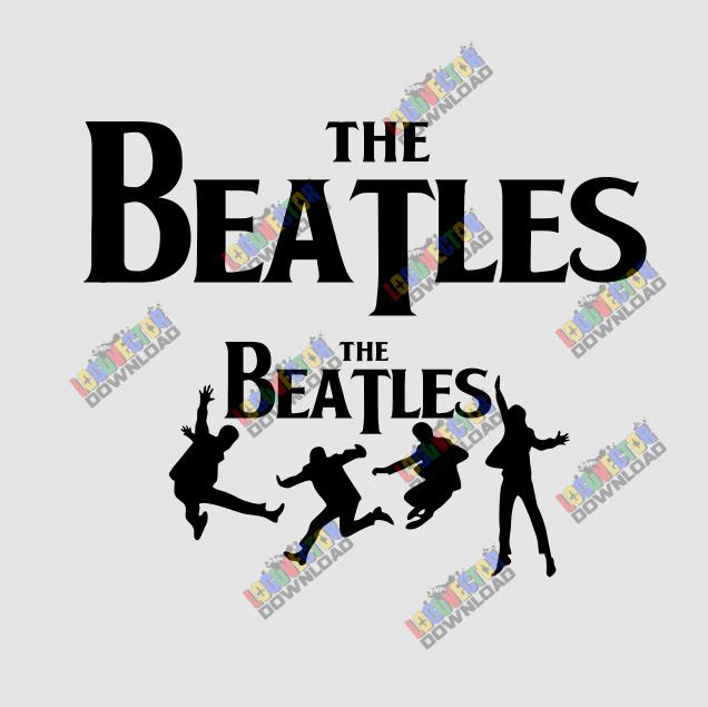 The Beatles Logo Vector Cdr Download