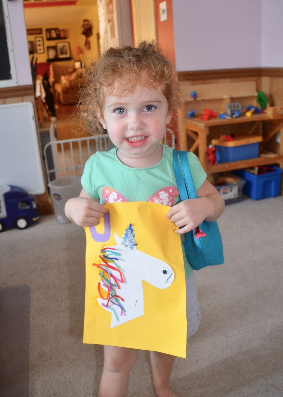 Aunt Tami S House Learning The Alphabet Letter U