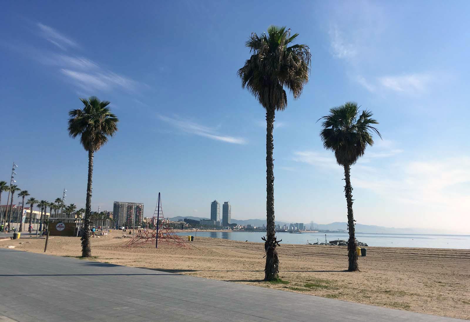 Playa de la Barceloneta, 2018
