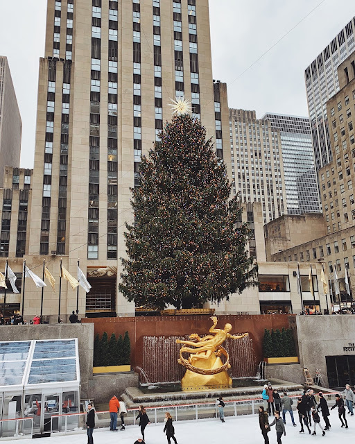 New York Christmas Time.Summer Wind Christmastime In New York City