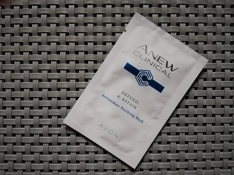 Avon Anew Clinical próbka maseczki oczyszczającej twarz
