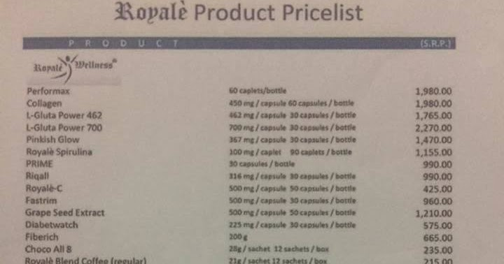 Royale Pinkish Glow Cream Price