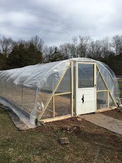 poly covering, frame, tunnel, structure