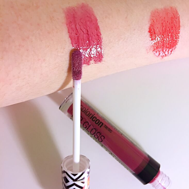 wet n wild coloricon Lip Gloss Shut the Pluck Up swatch