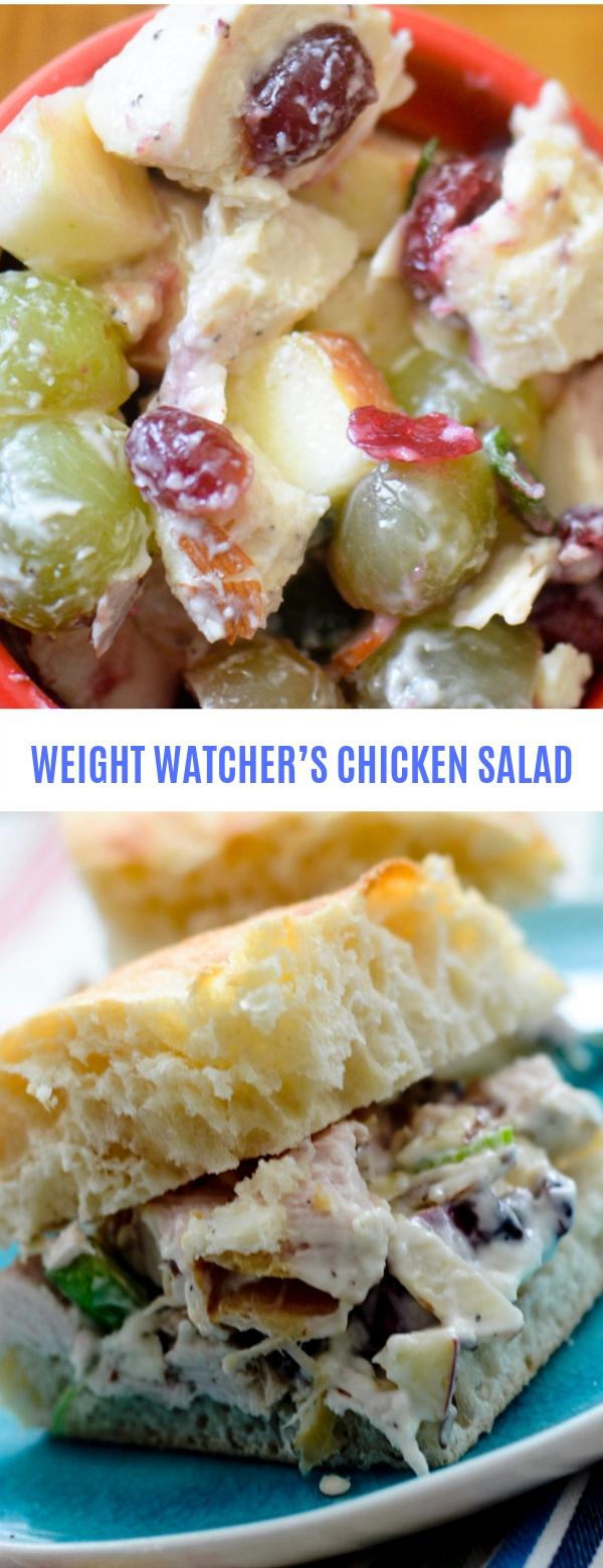 WEIGHT WATCHER'S CHICKEN SALAD