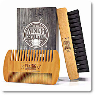 25 Viking Revolution Beard Comb for Men by Viking Revolution