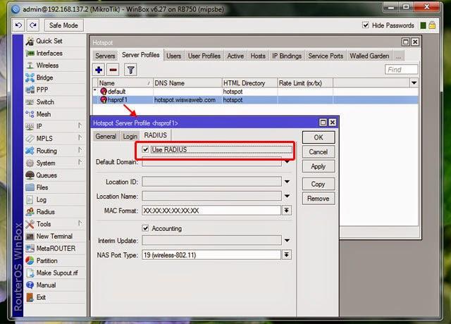 Quota Bandwidth User Manager Hotspot Mikrotik & Voucher Design