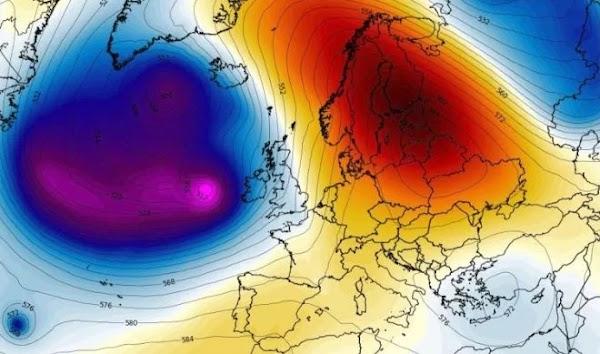 Un Ciclón Golpeara Partes De Europa.