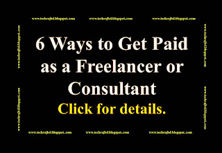 6 Ways to Get Paid as a Freelancer or Consultant-Learn and Earn